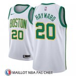 Maillot Boston Celtics Gordon Hayward No 20 Ciudad 2018-19 Blanc