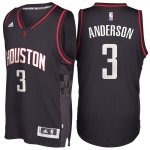 Maillot Alternate Black Space City Rockets Anderson 3 Noir