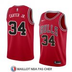 Maillot Bulls Wendell Carter Jr. 34 Icon 2018 Rouge