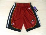Short Rouge Miami Heat NBA