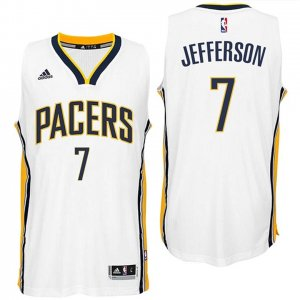 Maillot Pacers Jefferson 7 Blanc