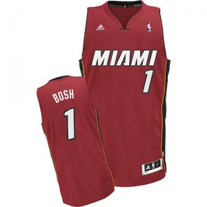 Maillot Rouge Bosh Miami Heat Revolution 30