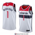 Maillot Washington Wizards Chris Mccullough Association 2018 Blanc