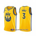 Maillot Golden State Warriors Jordan Poole Statement Or