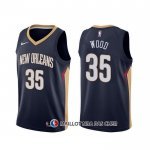 Maillot New Orleans Pelicans Christian Wood Icon Bleu