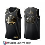 Maillot Golden Edition Golden State Warriors Stephen Curry Noir