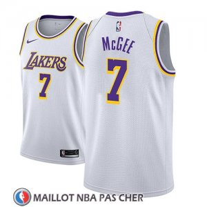 Maillot Los Angeles Lakers Javale Mcgee Association 2018-19 Blanc