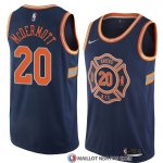 Maillot New York Knicks Doug Mcdermott Ville 2018 Bleu