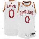 Maillot Blanc Love Cleveland Cavaliers Revolution 30