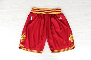 Short Rouge Cleveland Cavaliers NBA