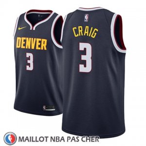 Maillot Denver Nuggets Torrey Craig No 3 Icon 2018-19 Bleu