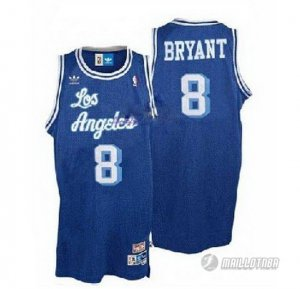 Maillot Los Angeles Lakers retro Bryant #8 Bleue