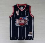 Maillot retro de Barkley Houston Rockets #4 Bleu