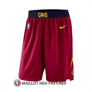 Short Cleveland Cavaliers 2017-18 Rouge