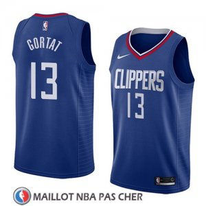 Maillot Los Angeles Clippers Marcin Gortat No 13 Icon 2018 Bleu