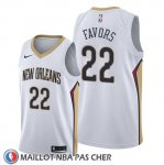 Maillot New Orleans Pelicans Derrick Favors Association Blanc