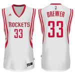 Maillot Rockets Brewer 33 Blanc