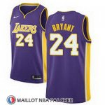 Maillot Lakers Kobe Bryant 24 Statement 2017-18 Volet