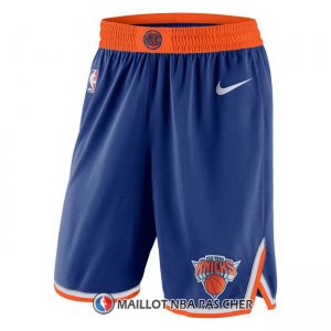 Short New York Knicks 2017-18 Bleu