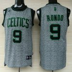 Maillot Rondo Boston Celtics #9 Static Fashion