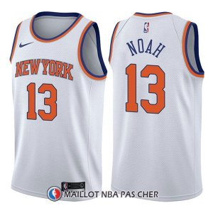 Maillot New York Knicks Joakim Noah Association 13 2017-18 Blanc