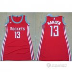 Maillot Femme de Harden Houston Rockets #13 Rouge