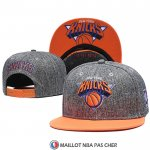 Casquette New York Knicks Gris Orange