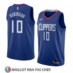 Maillot Los Angeles Clippers Jerome Robinson No 10 Icon 2018 Bleu