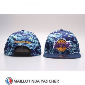 Casquette Los Angeles Lakers Snapback Bleu