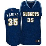 Maillot Crazy Light Leopard Nuggets Faried 35 Bleu