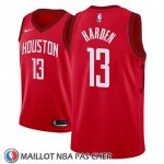 Maillot Houston Rockets James Harden No 13 Earned 2018-19 Rouge
