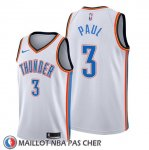 Maillot Oklahoma City Thunder Chris Paul Association Blanc