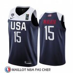Maillot USA Kemba Walker 2019 FIBA Basketball World Cup Bleu