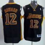 Maillot Dwight Howard Los Angeles Lakers #12 Noir