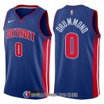 Maillot Detroit Pistons Andre Drummond Icon 0 2017-18 Bleu