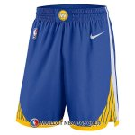 Short Golden State Warriors 2017-18 Bleu