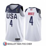 Maillot USA Derrick Blanc 2019 FIBA Basketball World Cup Blanc