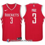Maillot Houston Rockets Chris Paul 3 2017-18 Rouge