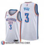 Maillot Oklahoma City Thunder Chris Paul Association Blanc2
