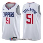 Maillot Los Angeles Clippers Boban Marjanovic Association 51 2017-18 Blanc