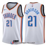 Maillot Oklahoma City Thunder Andre Roberson Swingman Association 21 2017-18 Blanc