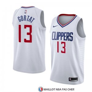 Maillot Los Angeles Clippers Marcin Gortat Association 2018 Blanc
