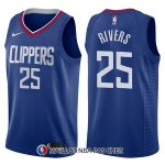 Maillot Los Angeles Clippers Austin Rivers Icon 25 2017-18 Bleu