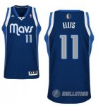 Maillot Bleu Ellis Dallas Mavericks Revolution 30