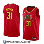 Maillot Atlanta Hawks Mike Muscala No 31 Statement 2018 Rouge