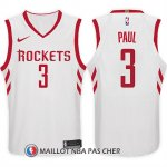 Maillot Houston Rockets Chris Paul 3 2017-18 Blanc