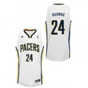 Maillot Blanc George Indiana Pacers Revolution 30