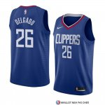 Maillot Los Angeles Clippers Angel Delgado Icon 2018 Bleu