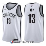 Maillot Brooklyn Nets Quincy Acy Association 13 2017-18 Blanc