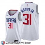 Maillot Los Angeles Clippers Marcus Morris Sr. Association 2019-20 Blanc